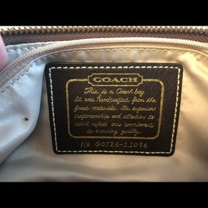 Coach Bags - Coach bag with matching wallet